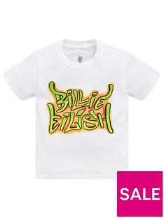 billie-eilish-unisexnbspband-t-shirt-white