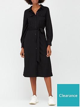v-by-very-jersey-shirt-dress-black