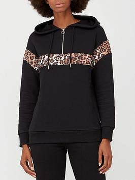 v-by-very-animal-colour-block-hoodie-black