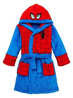spiderman-boys-spiderman-dressing-gown-with-hood-detail-multinbsp