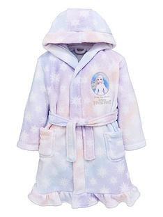 disney-frozen-girlsnbspelsa-gradiant-frill-dressing-gown-multi