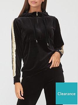 v-by-very-sequin-detail-zip-hoodie-blackgold