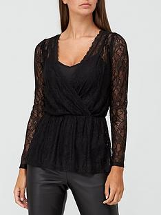 v-by-very-lace-wrap-top-black