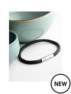 personalised-mens-capsule-tube-woven-bracelet-in-black