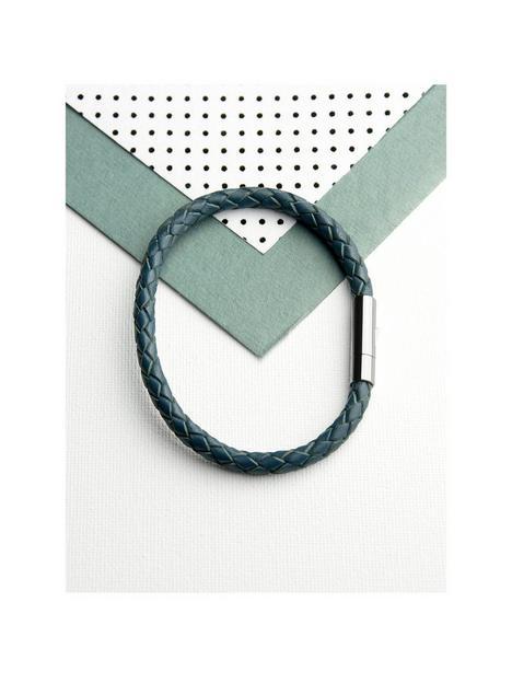 treat-republic-personalised-mens-capsule-tube-woven-bracelet-in-aegean-blue