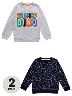 v-by-very-boys-2-pack-dinosaur-sweaters-multi