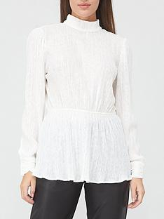 v-by-very-long-sleeve-crinkle-turtle-neck-top-white