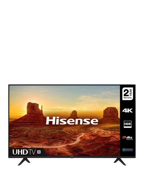 hisense-h43a7100ftuk-43-inch-4k-ultra-hd-hdr-freeview-play-smart-tv