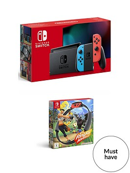 nintendo-switch-neon-console-with-ringfit-adventure