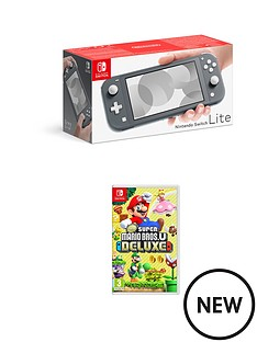 nintendo-switch-lite-grey-console-with-new-super-mario-bros-u-deluxe