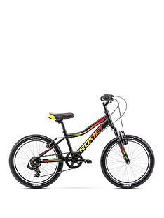 romet-rambler-20-inch-boys-alloy-mtb-front-suspension-black