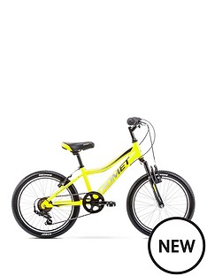romet-romet-rambler-20-inch-boys-alloy-mtb-front-suspension-yellow