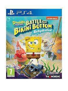 playstation-4-spongebob-squarepants-battle-for-bikini-bottom-rehydrated-ps4