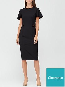 v-by-very-confident-curvenbspbutton-waist-midi-dress-black