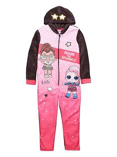 lol-surprise-girls-hooded-all-in-one-pink