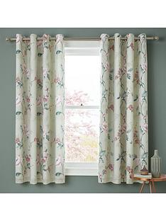 catherine-lansfield-floral-trail-eyelet-curtains