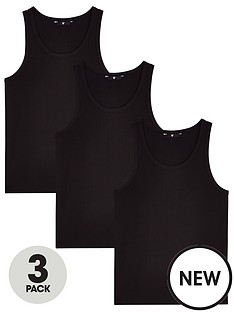 v-by-very-essentials-3-pack-vest-black