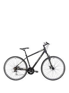 romet-romet-orkan-1-gents-trekking-bike-18-inch-700c-blackgreen