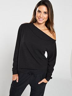 v-by-very-slouch-co-ord-top-black