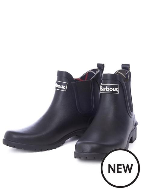 barbour-wilton-wellington-black