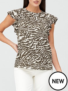v-by-very-round-neck-short-sleeved-shell-top-animal-print