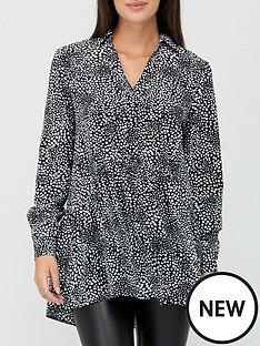 v-by-very-collar-button-through-tunic-print