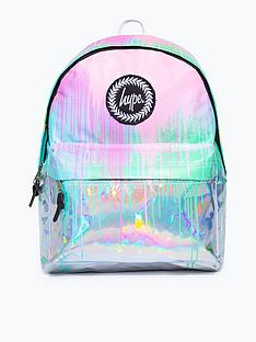 hype-girls-holographic-drips-backpack-multinbsp