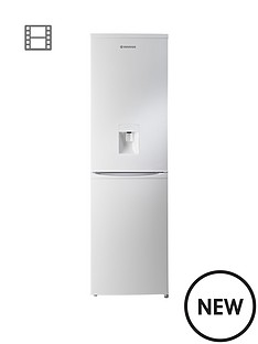 hoover-hvbf5182wwk-55cm-wide-frost-free-fridge-freezer-with-water-dispenser-white