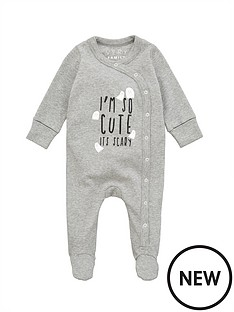 v-by-very-unisex-babynbsphalloween-sleepsuit-grey