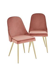 pair-of-ivy-velvet-dining-chairs-dusky-pink