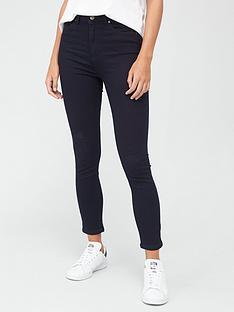 boss-casual-superskinny-crop-jeans-blue