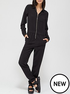 v-by-very-isla-soft-touchnbspdenim-jumpsuit-black