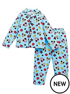 mickey-mouse-boys-disneynbspflannel-pyjamas-blue