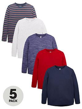 v-by-very-boys-5-pack-long-sleeve-t-shirts-multi