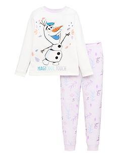 disney-frozen-girlsnbspolafnbspmagicool-touch-long-sleevenbsppyjamas-white