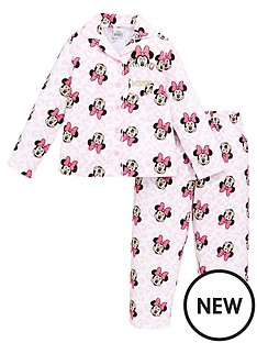 minnie-mouse-girlsnbspflannel-pjs-pink