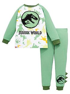 lego-boys-jurassic-world-all-over-print-pyjamas-with-wadded-dino-details-green