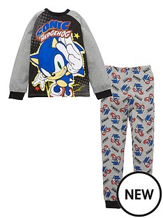 sonic-the-hedgehog-boys-sonic-the-hedgehog-raglan-sleeve-pjs-grey