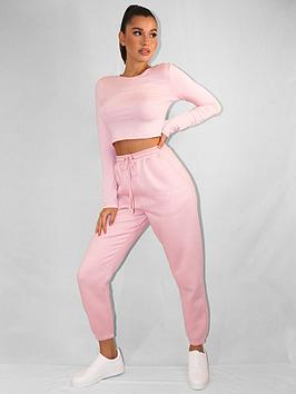 missguided-missguided-oversized-90s-joggers-pink