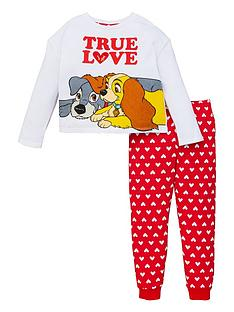 lady-and-the-tramp-girls-disney-lady-and-the-tramp-true-love-pjs-whitered