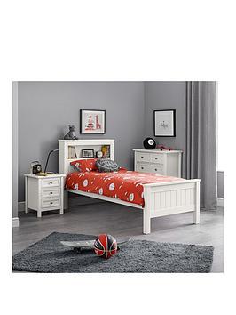 julian-bowen-maine-bookcase-bed-90cm-surf-white