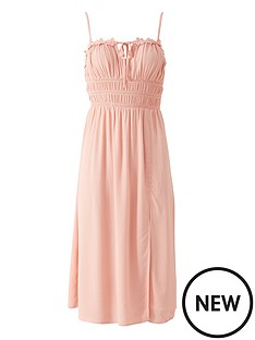 river-island-floral-trim-pleated-beach-midi-dress-pink