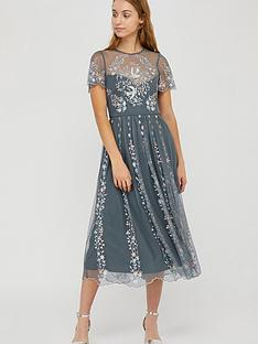 monsoon-delilah-embroidered-midi-dress-grey