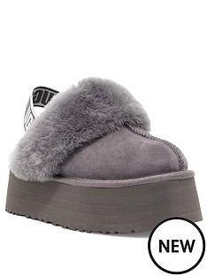 ugg-funkette-slipper-grey