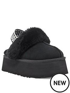ugg-funkette-slipper-black