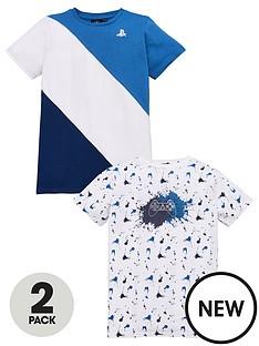 playstation-boysnbsp2-pack-t-shirts-multi