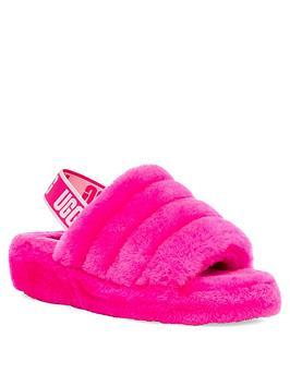 ugg-fluff-yeah-slide-slippers-rose