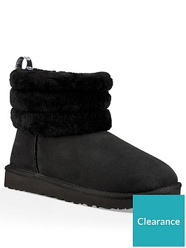 ugg-fluff-mini-quilted-ankle-boot-black