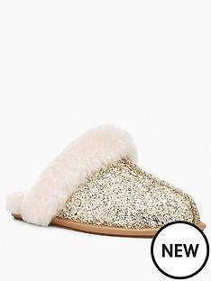 ugg-scuffette-ii-cosmos-slipper-gold