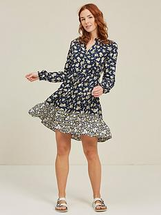 fatface-arianna-summer-daisies-dress-navy